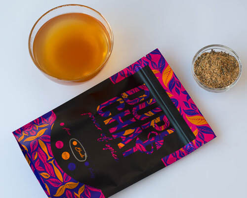 elevate gut power looseleaf tea