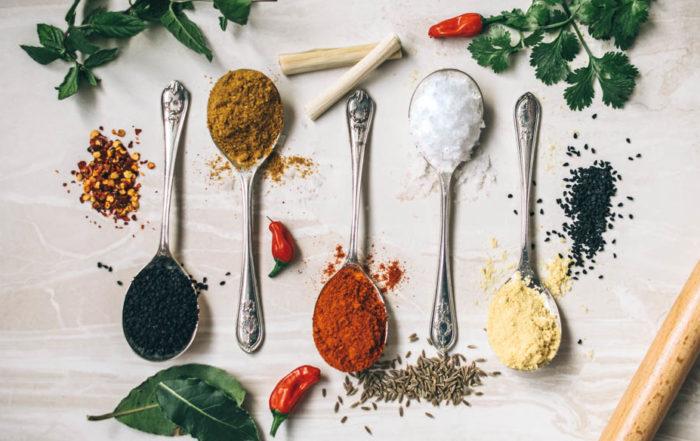 antioxidant herbs spices