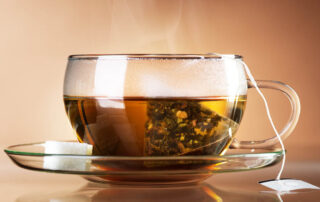 tea bag in a cup